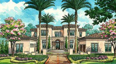 Magnificent Estate Home Plan - 42813MJ thumb - 02