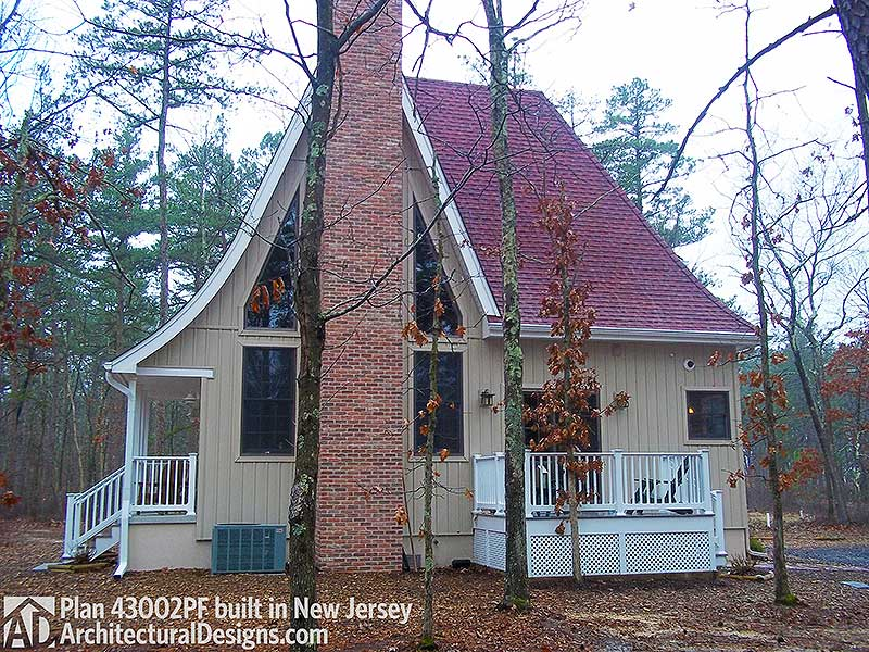 Charming Gothic Revival Cottage 43002pf Cottage