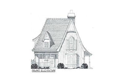 Charming Gothic Revival Cottage - 43002PF thumb - 04