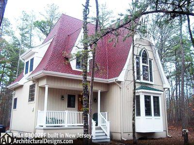 Charming Gothic Revival Cottage - 43002PF thumb - 02