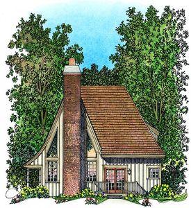 Charming Gothic Revival Cottage - 43002PF thumb - 03