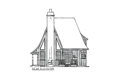 Charming Gothic Revival Cottage - 43002PF thumb - 06