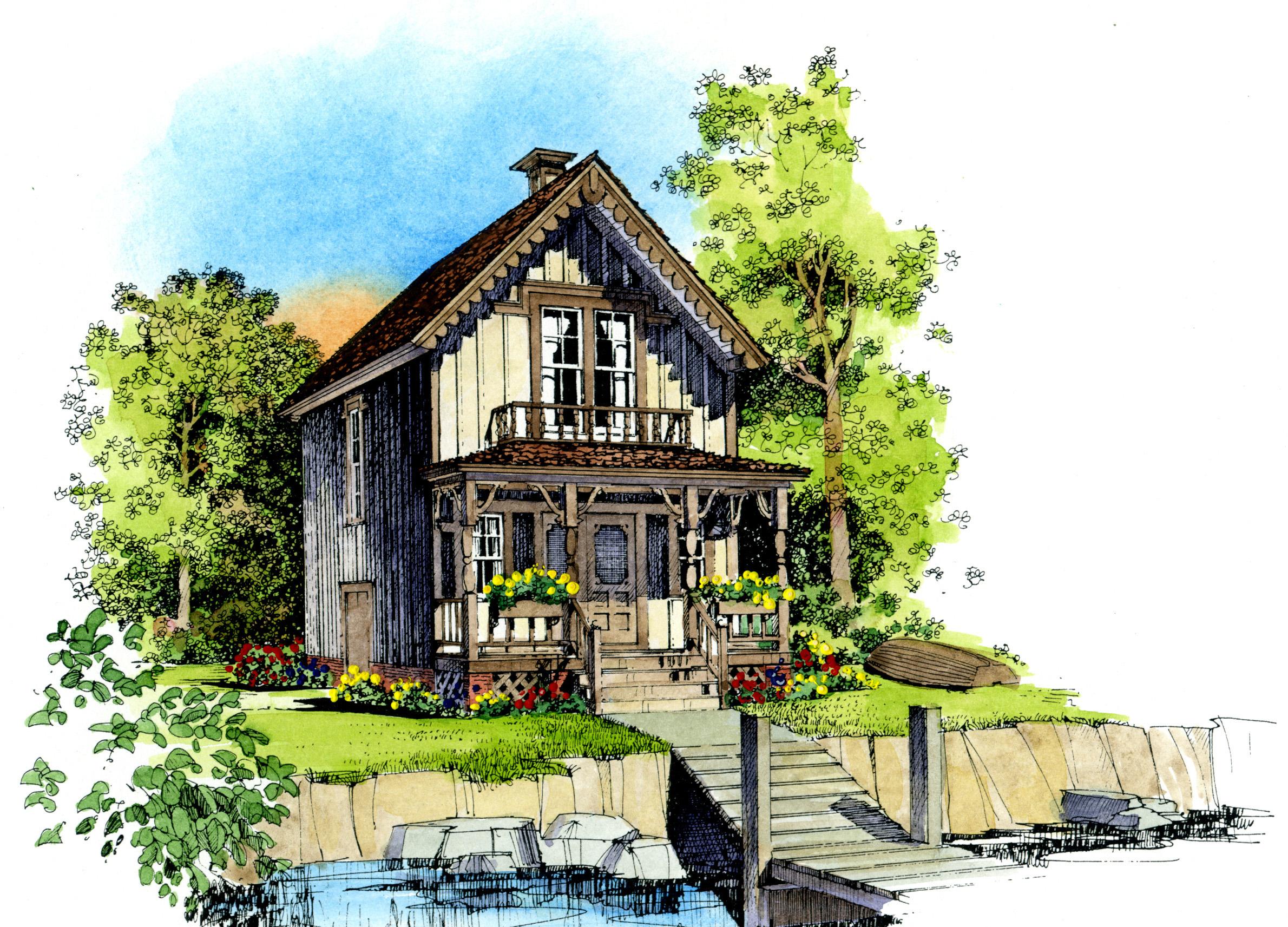 petite cottage - 43006pf