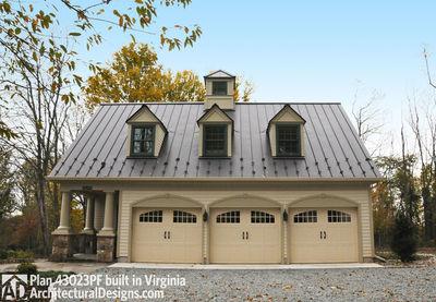 Picturesque Garage Apartment - 43023PF thumb - 02