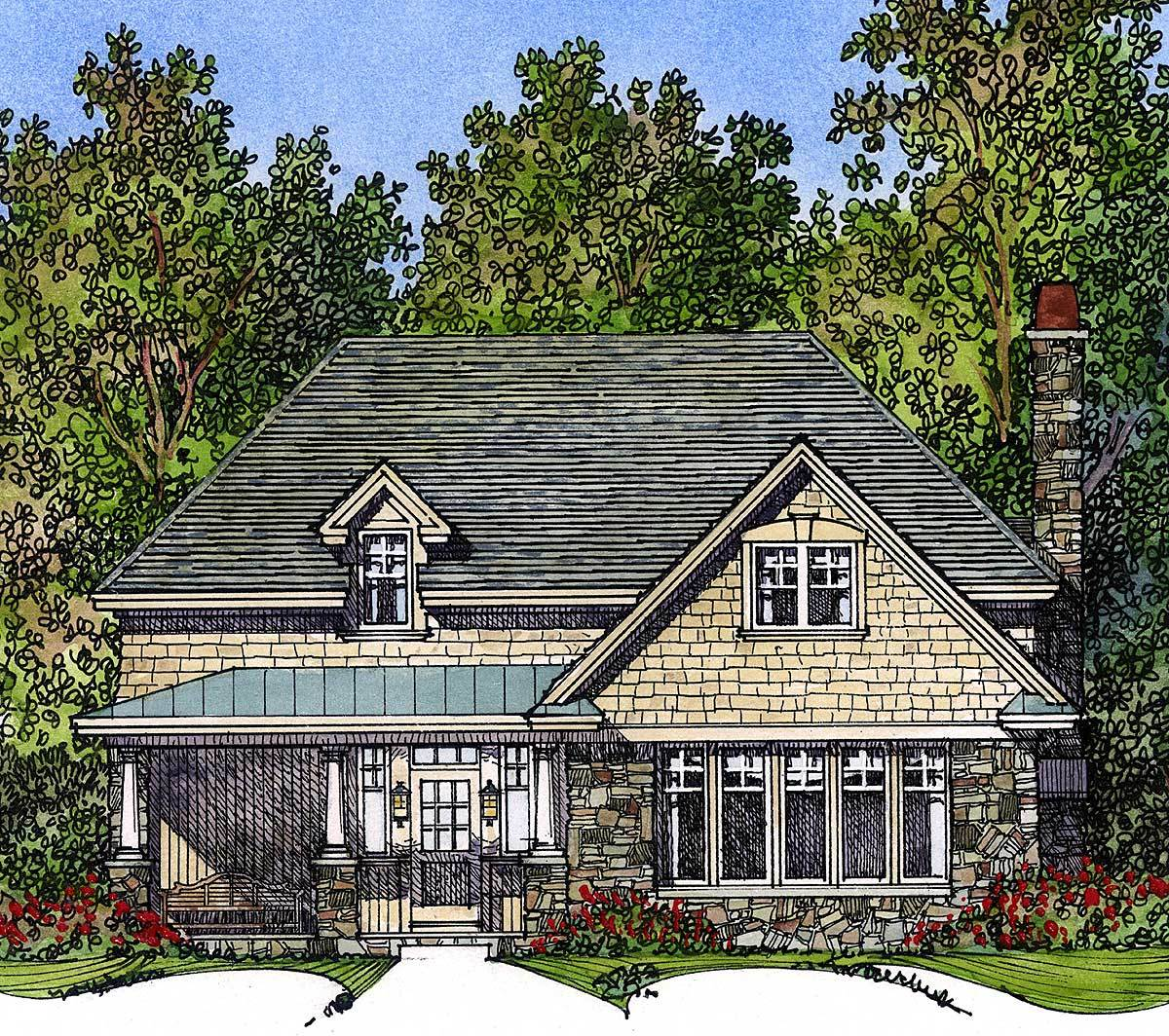 Charming Vacation Cottage 43025pf Architectural