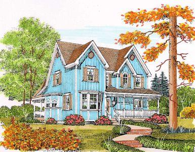 Charming Gothic Revival Farmhouse