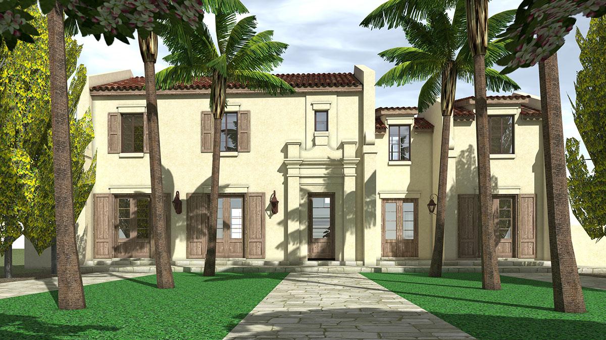 Classic spanish mediterranean house plan 44011td for Classic mediterranean house