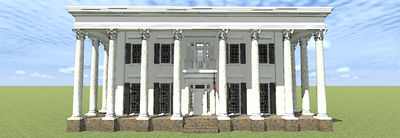 Classic Greek Revival with Fly-By - 44042TD thumb - 02