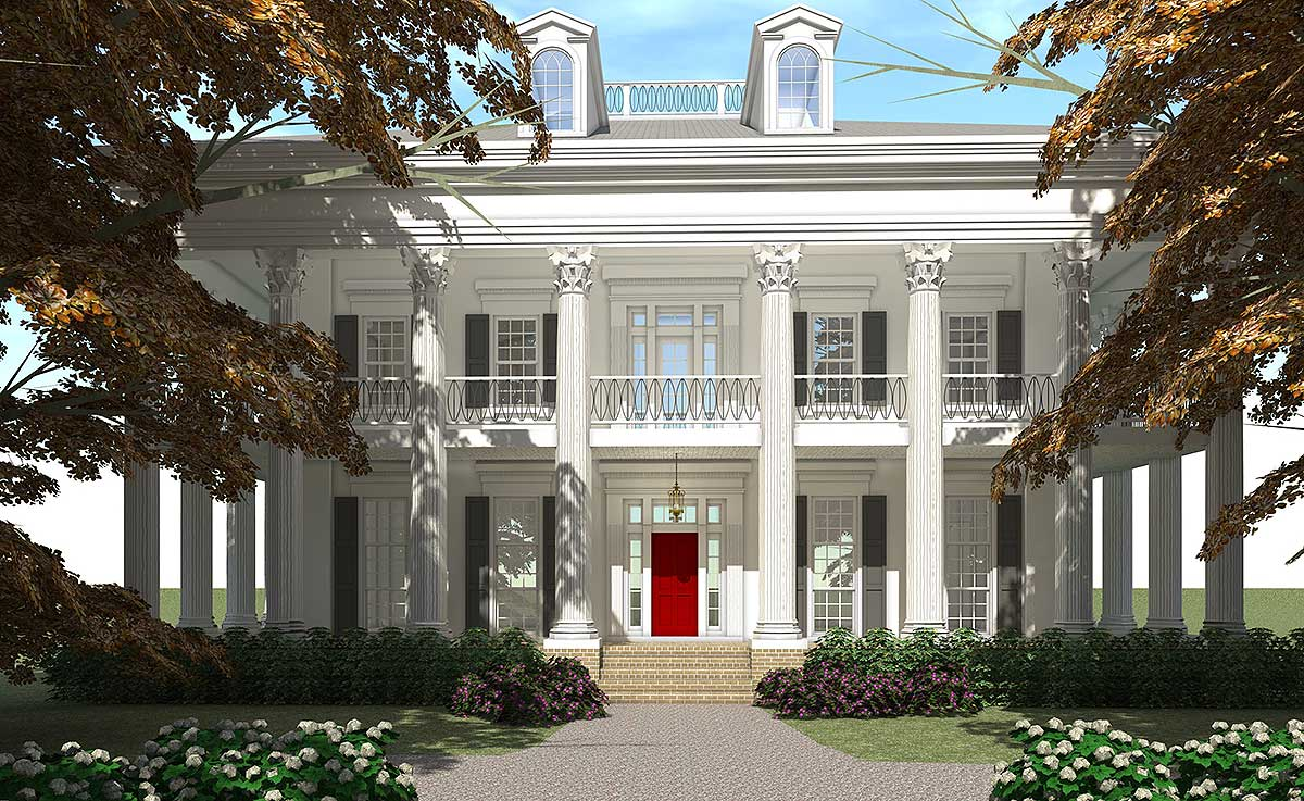 Architectural designs for Classic house tour