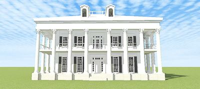 Classic Greek Revival with Video Tour - 44055TD thumb - 04