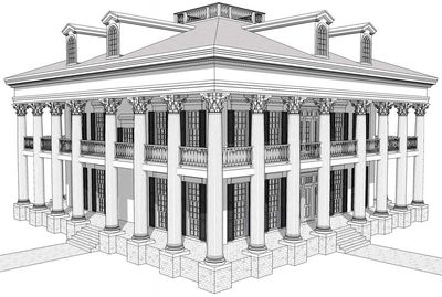 Classic Greek Revival with Video Tour - 44055TD thumb - 08
