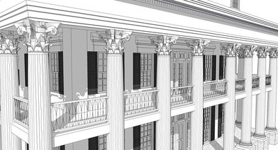 Classic Greek Revival with Video Tour - 44055TD thumb - 09