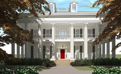 Classic Greek Revival with Video Tour - 44055TD thumb - 01