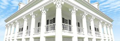 Classic Greek Revival with Video Tour - 44055TD thumb - 07
