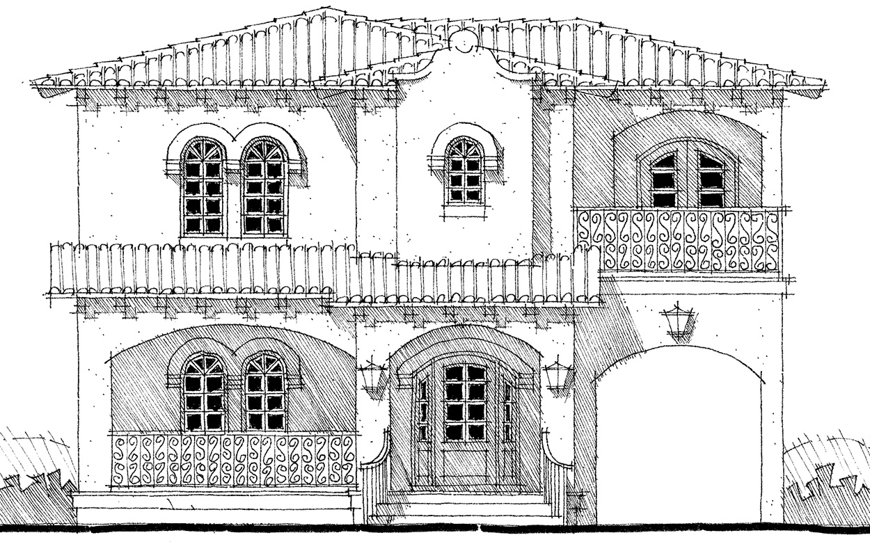 Second Floor Terrace - 44058TD | Architectural Designs ...
