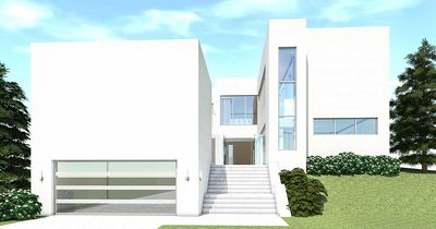 Modern Beach Home with Tree Courtyard - 44064TD thumb - 01