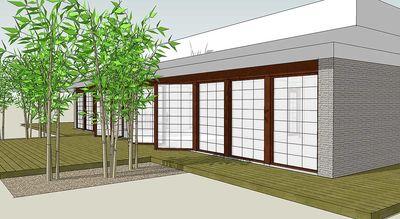 Oriental-Inspired Modern Loft Style Living - 44070TD thumb - 01