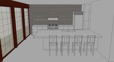 Oriental-Inspired Modern Loft Style Living - 44070TD thumb - 04
