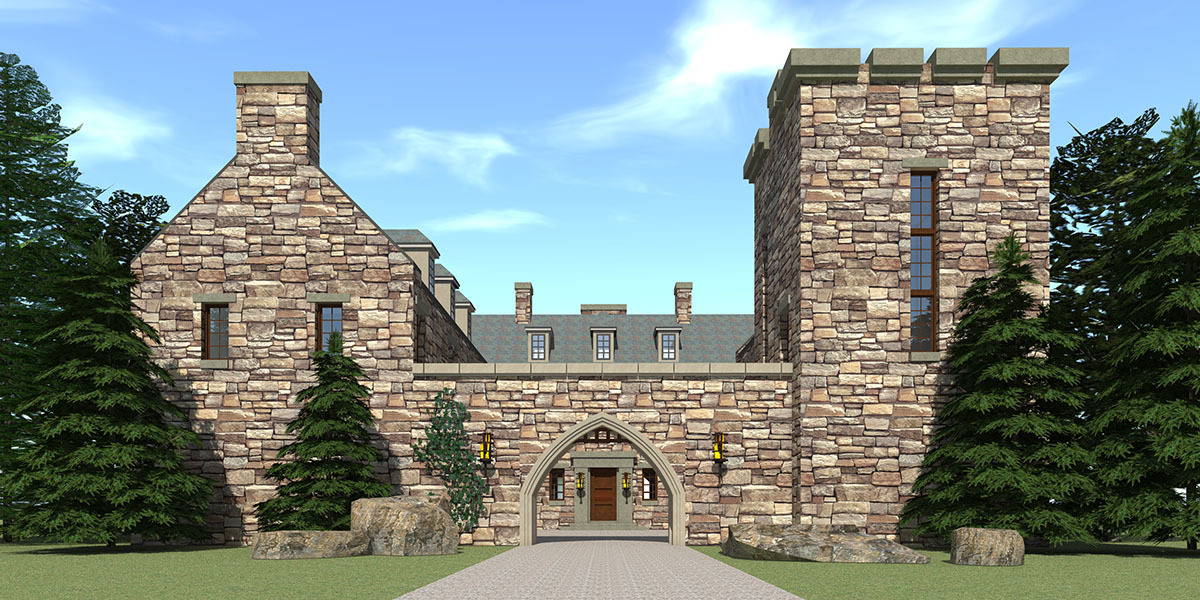 Scottish highland castle 44071td architectural designs for Scottish highland castle house plans
