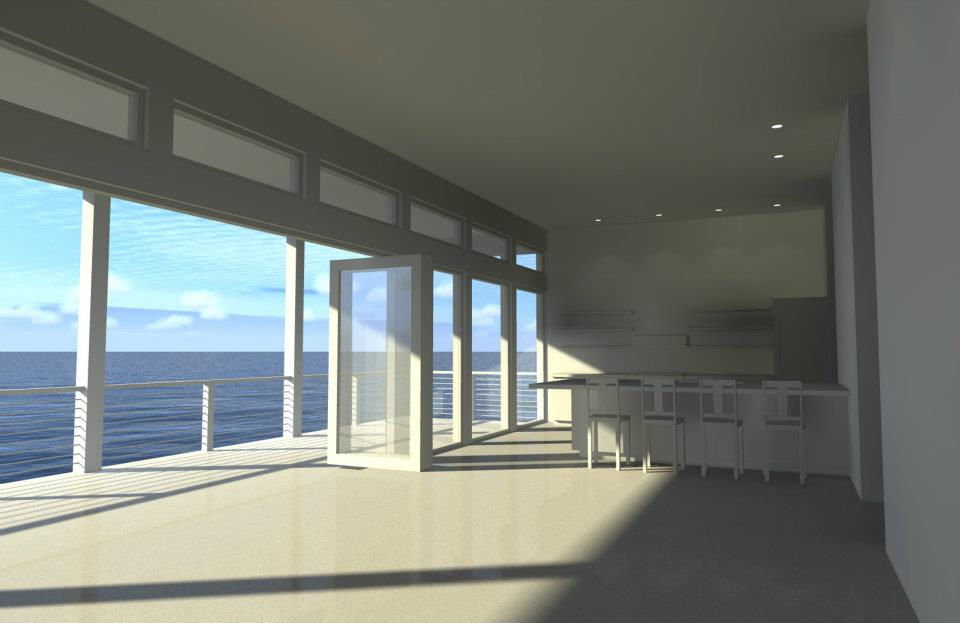 Architectural designs for Beach house plans with loft