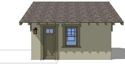 Craftsman Style Detached Garage Plan 44080TD – Prairie Style Garage Plans