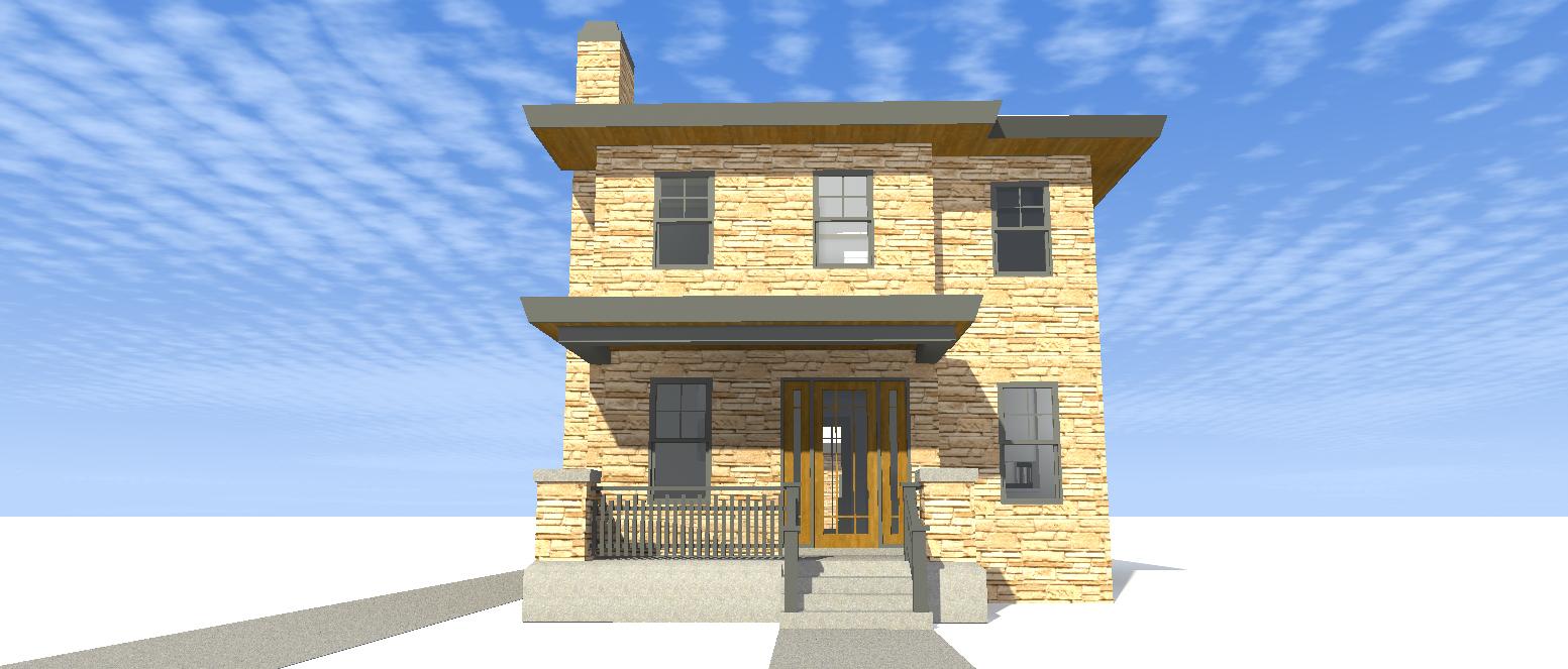 Award Winning Narrow Lot House Plan 44037td Cottage