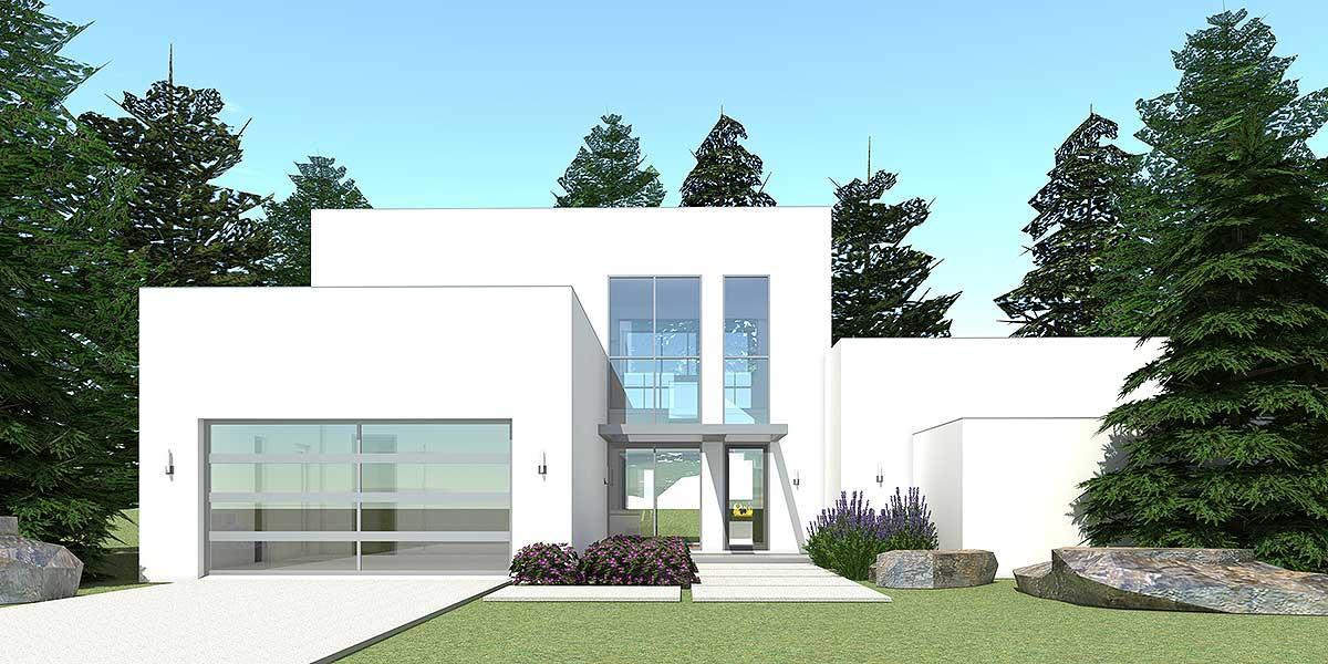 Rooftop observation deck 44090td 1st floor master for Beach house plans rooftop deck