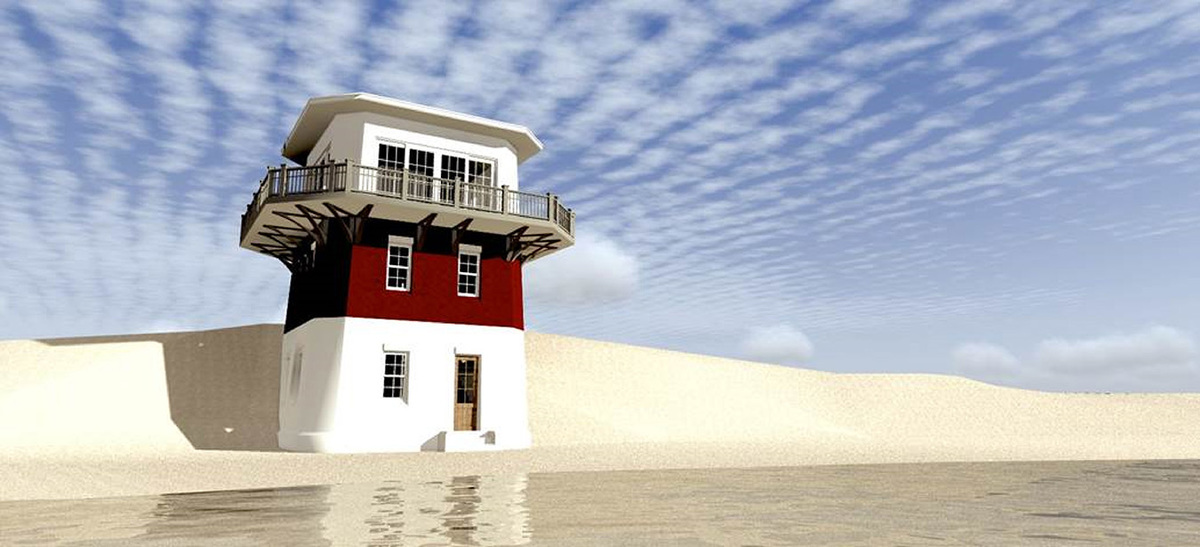Lighthouse vacation home plan 44092td 1st floor master for Lighthouse home plans