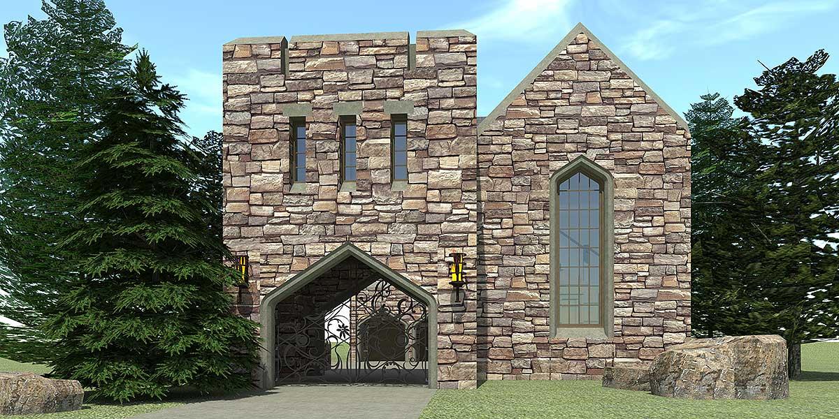 Scottish highland castle 44100td architectural designs for Scottish highland castle house plans