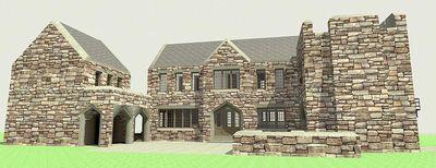 Scottish Highland Castle - 44100TD thumb - 04