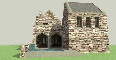 Scottish Highland Castle - 44100TD thumb - 06