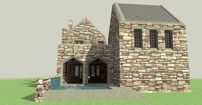 scottish highland castle 44100td architectural designs