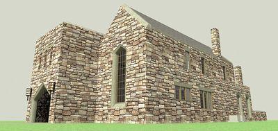 Scottish Highland Castle - 44100TD thumb - 08