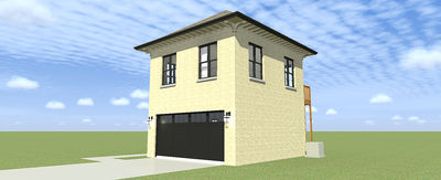 Architectural designs for 3 car garage with upstairs apartment