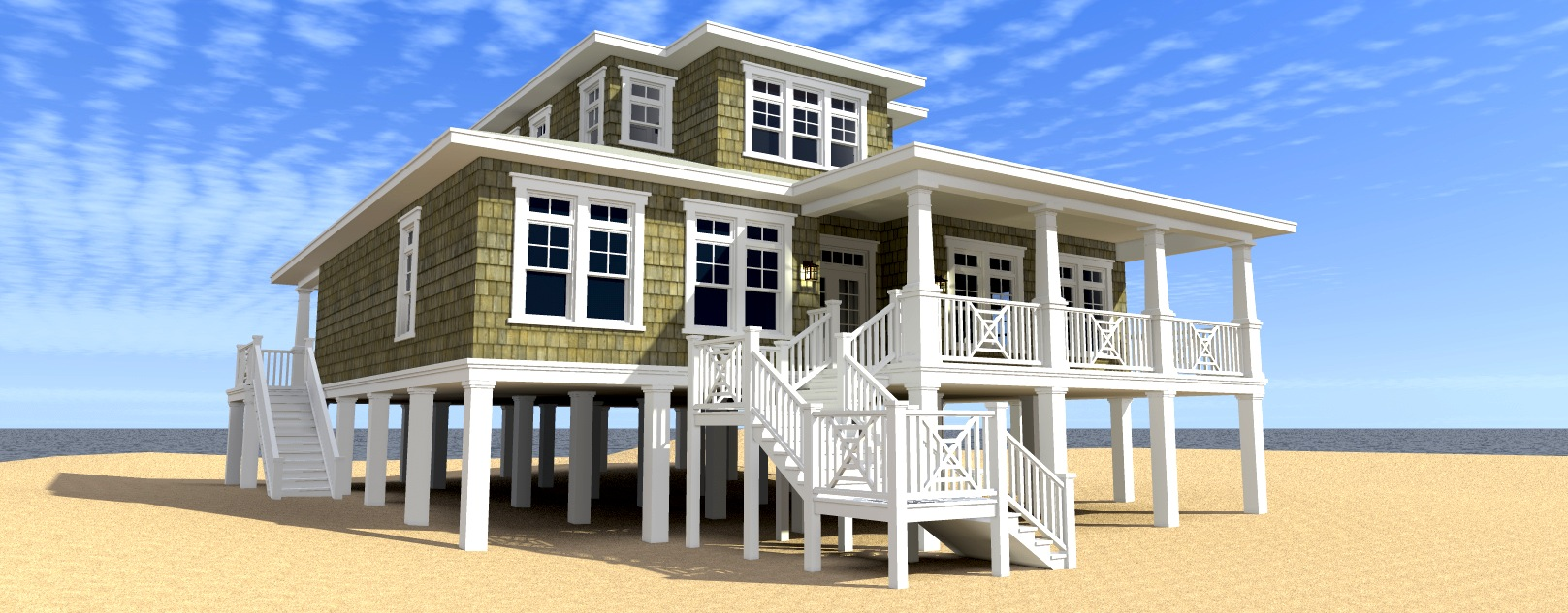 Ultimate oceanfront house plan 44117td architectural for Oceanfront house plans