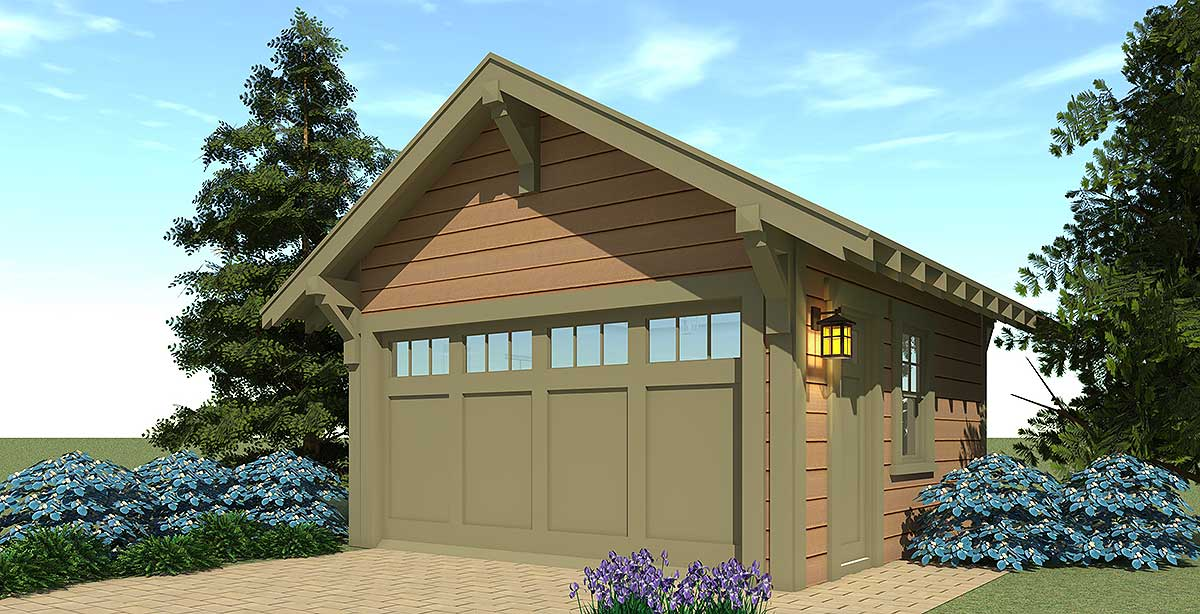 Craftsman style 2 car garage plan 44126td for Craftsman house plans 3 car garage