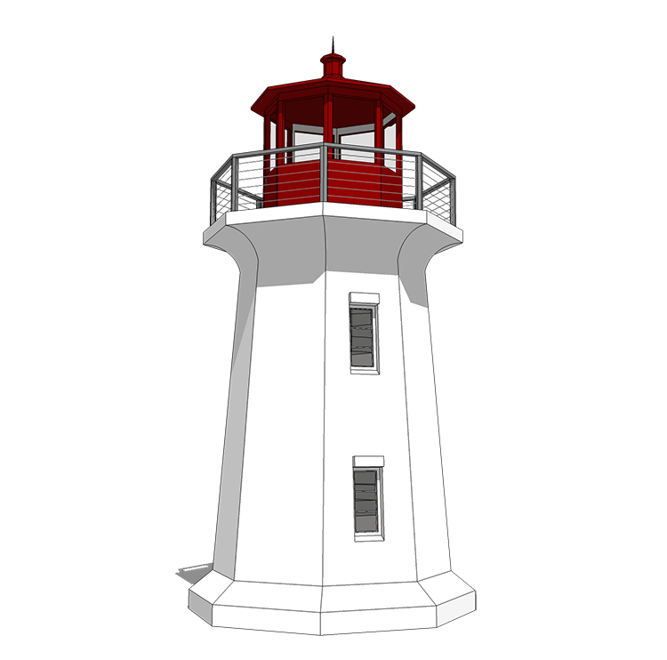 Your Very Own Lighthouse 44132td Beach Cad Available