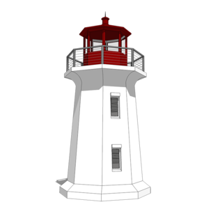 Your Very Own Lighthouse 44132td Architectural Designs