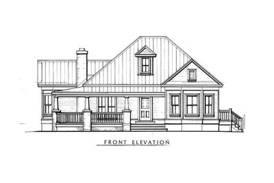 Fully-Appointed Hill Country Home Plan - 46001HC thumb - 02