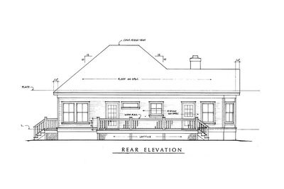 Fully-Appointed Hill Country Home Plan - 46001HC thumb - 04