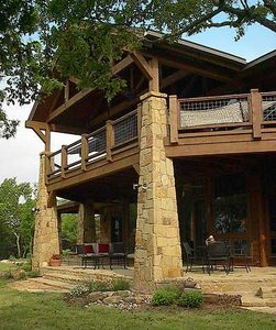Unique hill country home plan 46008hc architectural for Unique country house plans