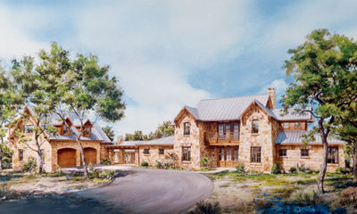 unique hill country home plan - 46008hc | architectural designs