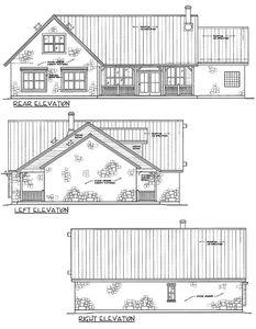Stone Ranch Home Plan - 46025HC thumb - 03