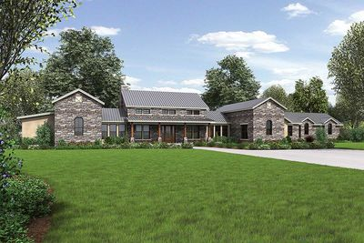 Hill Country Home with Massive Porch - 46041HC thumb - 01