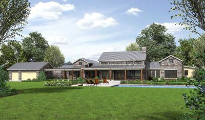 Hill Country Home with Massive Porch - 46041HC thumb - 02