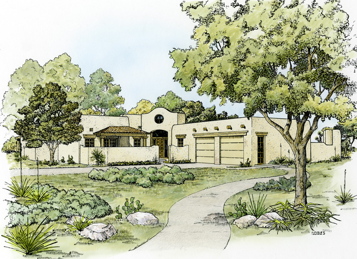 southwestern home designs southwestern home plan with shape 46046hc 1st 14981