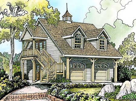 2 car carriage house retreat 46050hc 2nd floor master for 3 car carriage house plans