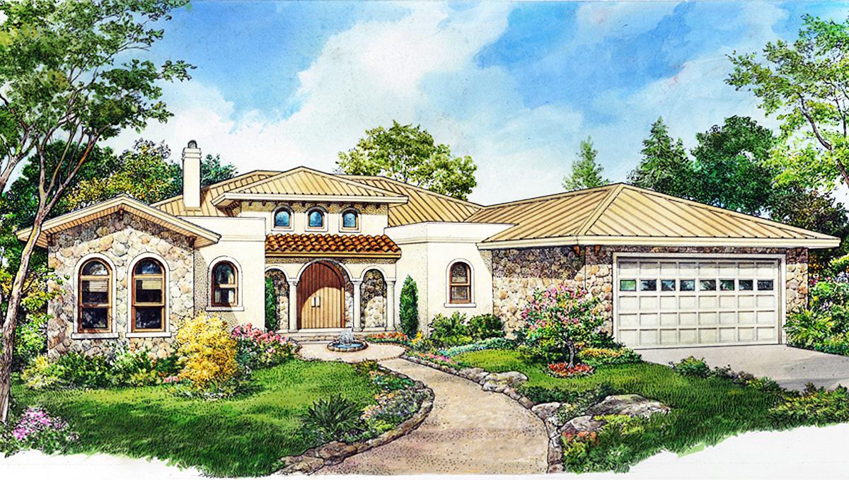 european house plan with wine room 46066hc architectural european house plan with wine room 46066hc 01