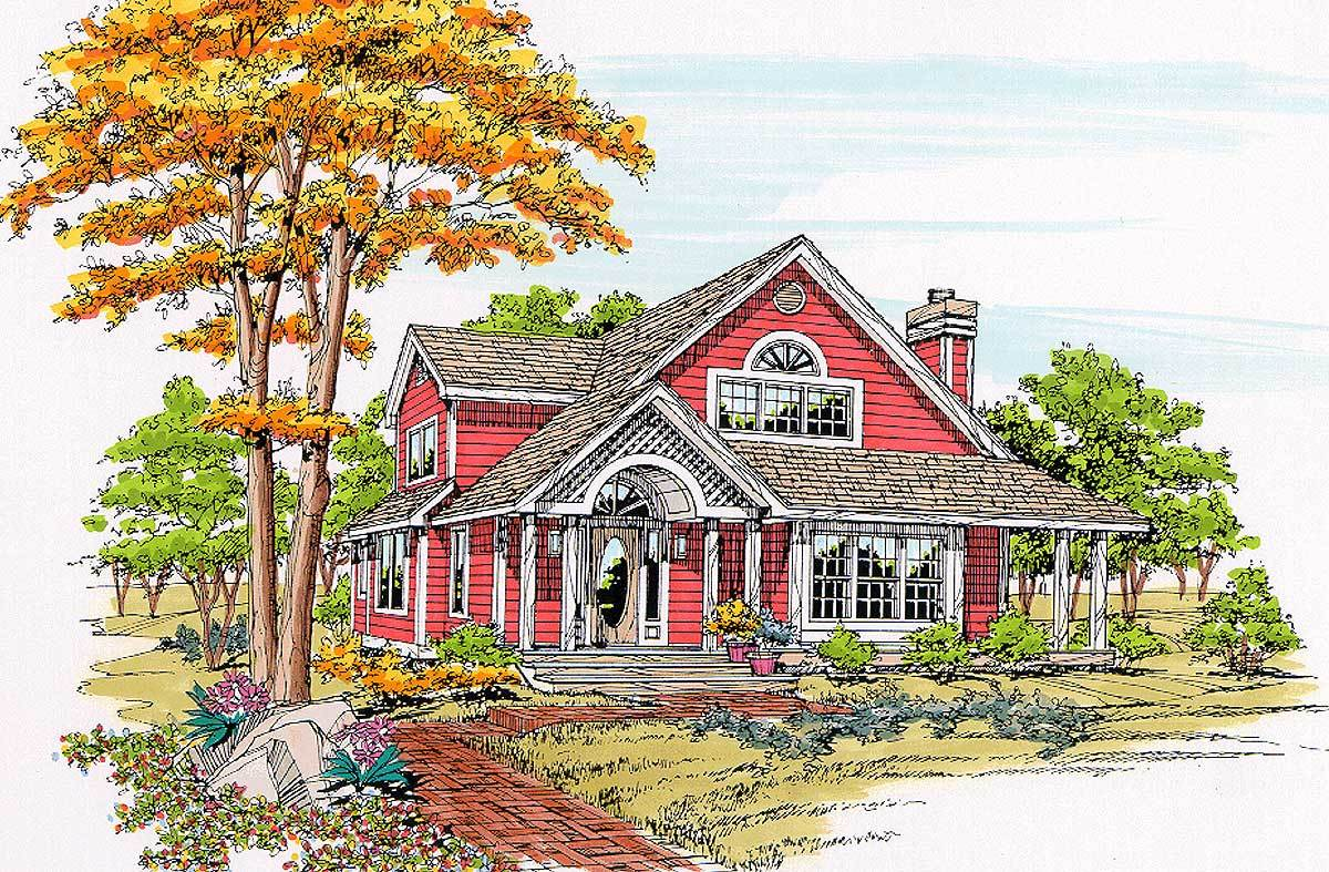 Craftsman style home ideal for retirees 46101jb for House plans for retired couples