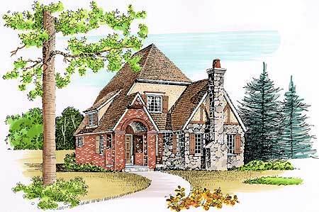 Charming Cottage Design 46156se Architectural Designs